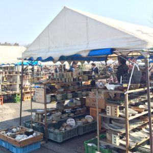 Tents Out At Mashiko Spring Pottery Fair