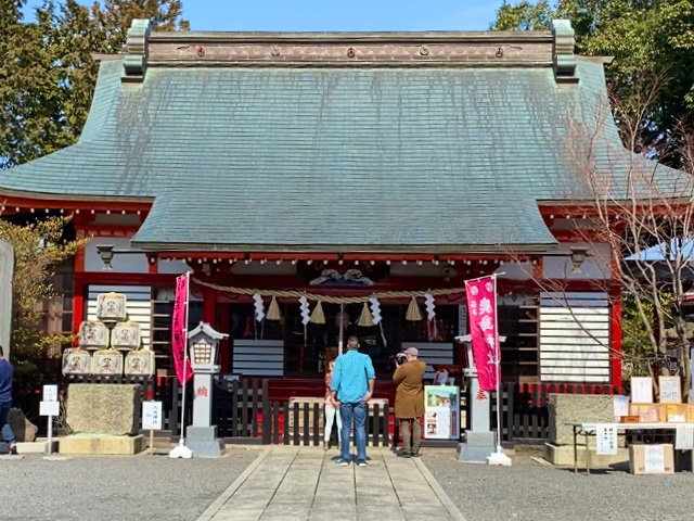Kashima shrine in Mashiko Japan