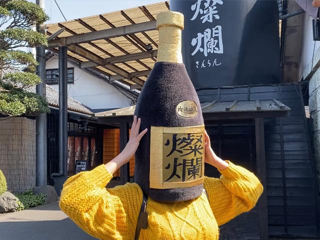 Enjoy visiting Tonoike Sake brewery in Mashiko in spring