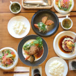 Lunch at Oya Fun table restaurant in Oya district, Utsunomiya city