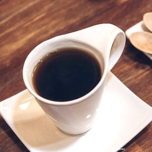 coffee at Coena Cafe in sano
