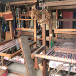 Traditional weaving machine in Kiryu City
