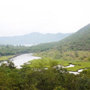 A view of Kakumanbuchi wetland in Akagi area in Gunma nearby Tokyo