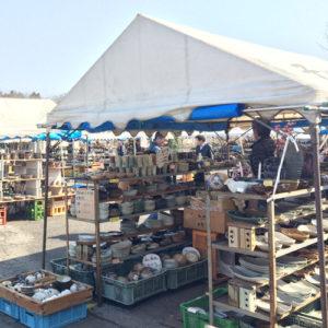 Tents Out At Mashiko Spring Pottery Fair