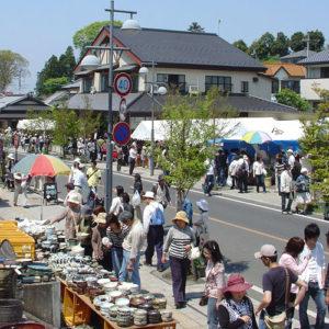 The Mashiko Spring Pottery Fair - Jyonaizaka Street