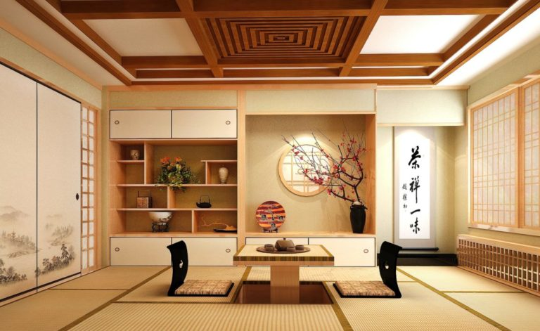 Beautiful room in a Japanese ryokan