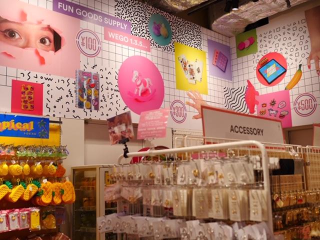 WEGO - A fun shop in Harajuku