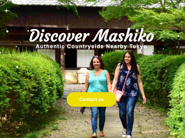 Discover Mashiko Website