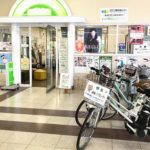 Bicycle hire at Kiryu Station nearby Tokyo